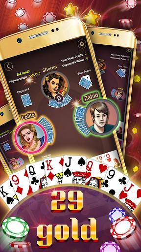 29 Card Game ( twenty nine ) Offline 2020 5.32 screenshots 2