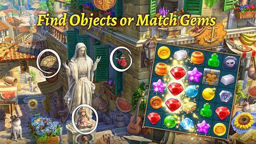 The Hidden Treasures: Find Hidden Objectsu30fbMatch 3 1.17.1400 screenshots 9