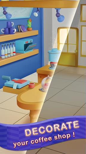 Merge Barista: Café Decoration screenshots 1