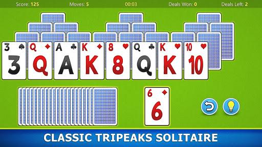 TriPeaks Solitaire Mobile Apkfinish screenshots 17