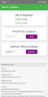 My IP Location - Whois