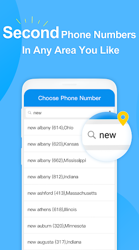 Telos Free Phone Number & Unlimited Calls and Text 2.2.7 Screenshots 2