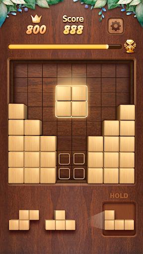Wood Block Puzzle 3D - Classic Wood Block Puzzle apktram screenshots 3