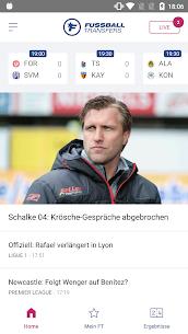 Fussball Transfers: Transfermarkt, Live-Ergebnisse – APK Mod for Android 1