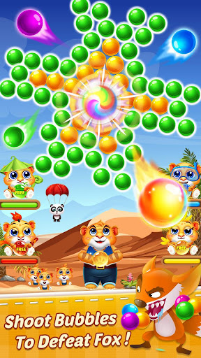 Bubble Shooter 2 Tiger  screenshots 3