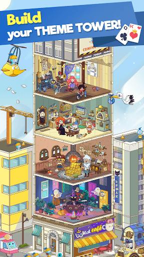 Theme Solitaire Tripeaks Tri Tower: Free card game screenshots 17