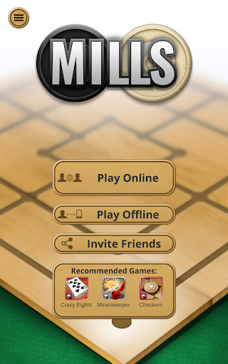Nine men's Morris - Mills - Free online board game 2.8.12 Screenshots 11