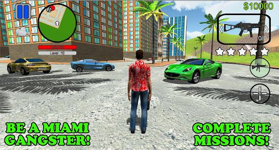 Grand Miami Gangster: Real Crime