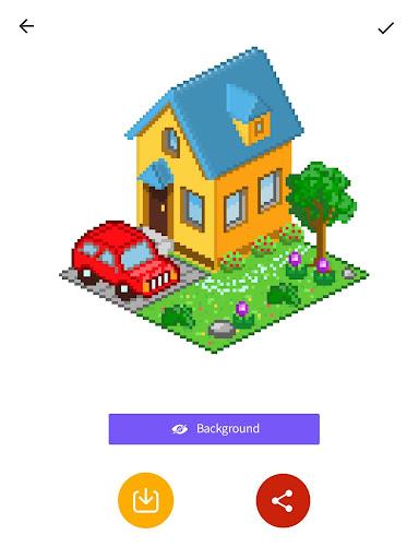 InDraw - Color by Number Pixel Art apktram screenshots 7