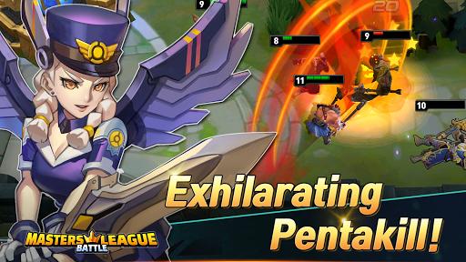 Masters Battle League 5v5 : Legend MOBA PvPTrainer screenshots 3