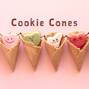 Sweets Wallpaper Cookie Cones Theme