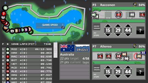 Fastest Lap Racing Manager 0.384 de.gamequotes.net 3