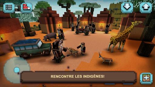 Télécharger Safari Savane : Animaux Carrés APK MOD (Astuce) screenshots 3