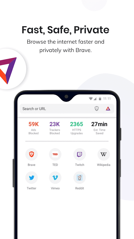 Brave Private Browser: Fast, secure web browser  poster 0