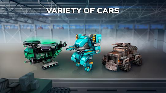 Blocky Cars – pixel shooter, tank wars 4