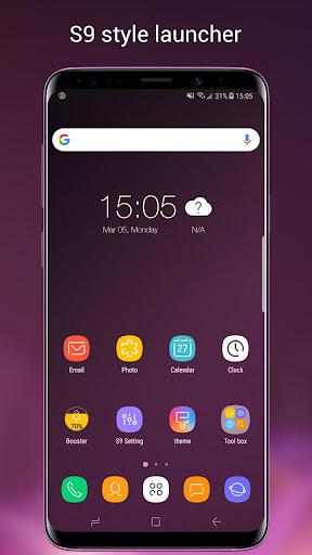 Super S9 Launcher for Galaxy S9/S8/S10 launcher  screenshots 1