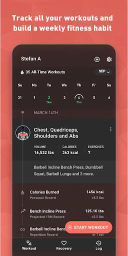 Fitbod Workout & Fitness Plans 2.0.3 Screenshots 5