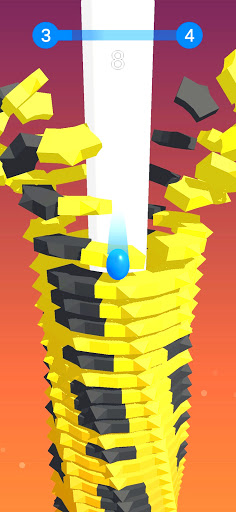 Stack Ball - Blast through platforms apkslow screenshots 2