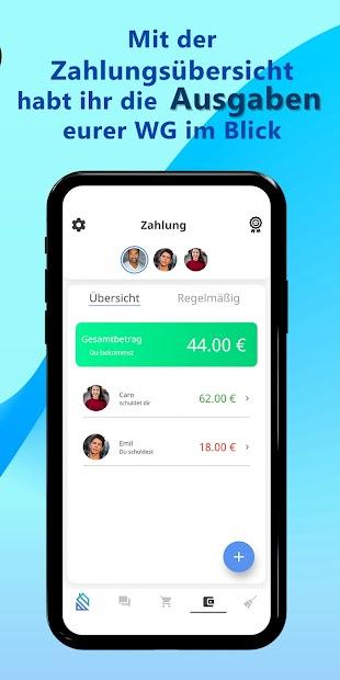 Captura 4 de Flatify - Die WG-App für euren Haushalt para android