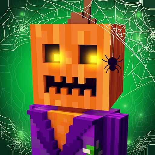 Scary Theme Park Craft: Budowanie miasta i zombie