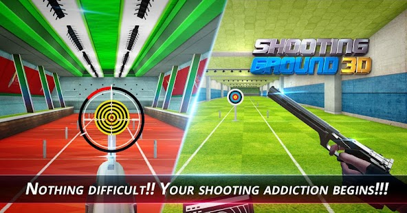 Shooting Ground 3D: God of Shooting Screenshot