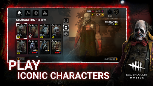 Dead by Daylight Mobile - Multiplayer Horror Game apkmr screenshots 3