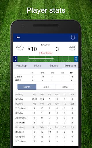 49ers Football: Live Scores, Stats, Plays, & Games 9.1.2 screenshots 11