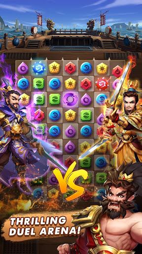 Three Kingdoms & Puzzles: Match 3 RPG screenshots 3