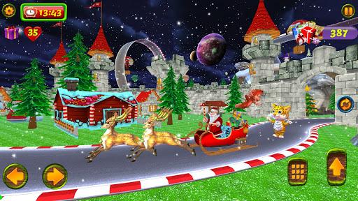 Santa Christmas Infinite Track screenshots 7