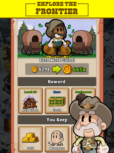 Idle Frontier: Tap Town Tycoon 1.057 screenshots 11