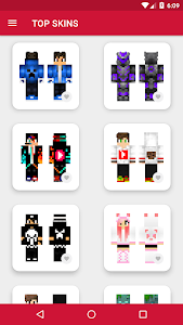 Skins YouTubers for Minecraft PE 1.6