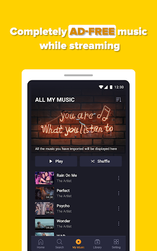 Free Music Streaming: Trending for Tube Music Song  screenshots 20