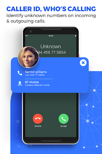 Caller ID Name Locator & Tracker, Spam blocking apktram screenshots 4