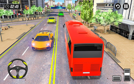 Public Transport Bus Coach: Taxi Simulator Games 1.4 screenshots 1