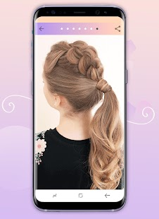Hairstyles step by step Screenshot