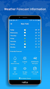 Neffos Weather 9.0-20181217.10025-rel Screenshots 2