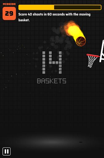Dunkz ud83cudfc0ud83dudd25  - Shoot hoop & slam dunk screenshots apkspray 19