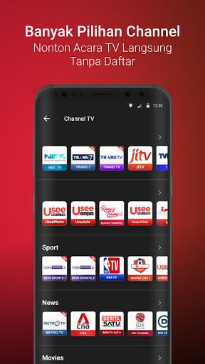 UseeTV GO - Watch TV & Movie Streaming android2mod screenshots 3