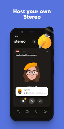 Stereo: Join real conversations with real people  Screenshots 4