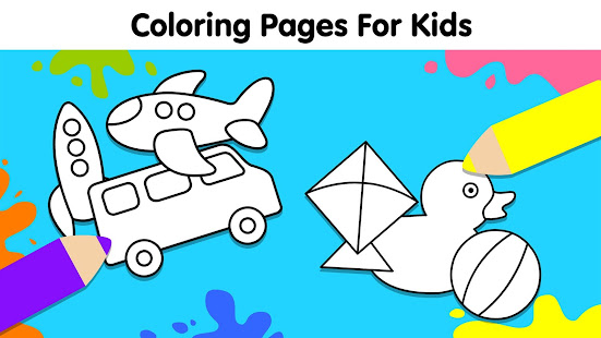 Coloring Games For Kids: Baby Drawing Book & Pages - Apps En Google Play