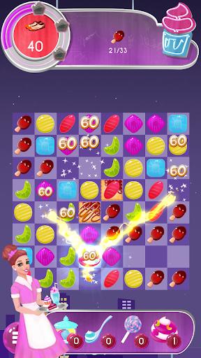 tasty candy cafe: match 3 game screenshot 3