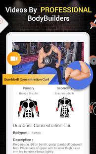 Pro Gym Workout (Gym Workouts & Fitness) 5.4 Screenshots 13