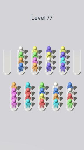 Crowd Sort - Color Sort & Fill  screenshots 18
