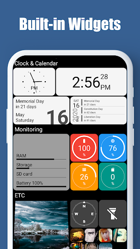 Square Home - Launcher : Windows style 2.1.14 Screenshots 3