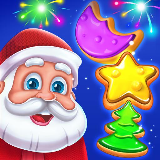 Baixar Christmas Cookie - Santa Claus's Match 3 Adventure para Android