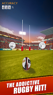 Flick Kick Rugby Kickoff