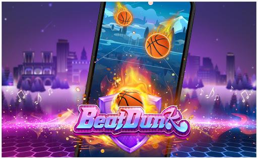 Beat Dunk - Free Basketball with Pop Music  screenshots 1