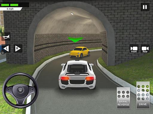 City Car Driving & Parking School Test Simulator 3.2 screenshots 24