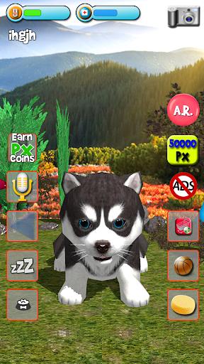 Talking Puppies - virtual pet dog to take care  screenshots 2
