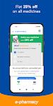 screenshot of dhani: online medicine, cards, transaction finance